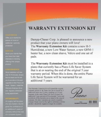 Piano Life Saver Warranty Extension Kit