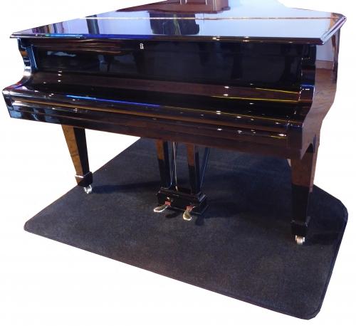 Grand Piano Protection Carpet Black