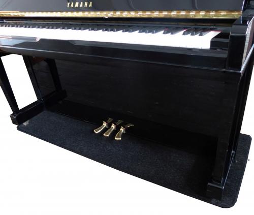 Upright Piano Protection Carpet Black