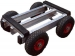 4 Wheel Pneumatic Trolley