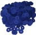 Large Hitchpin Washers Cloth Bluthner Blue 1.0mm